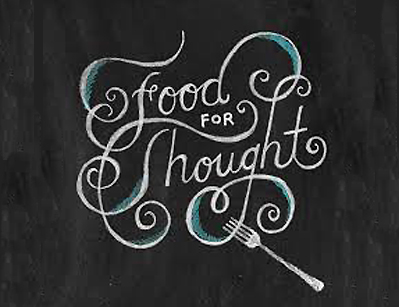 Mind food: You read it here