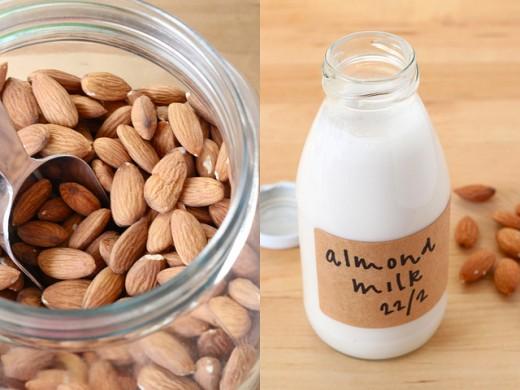 Nut milk in five minutes