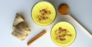 Try a turmeric latte: golden goodness!
