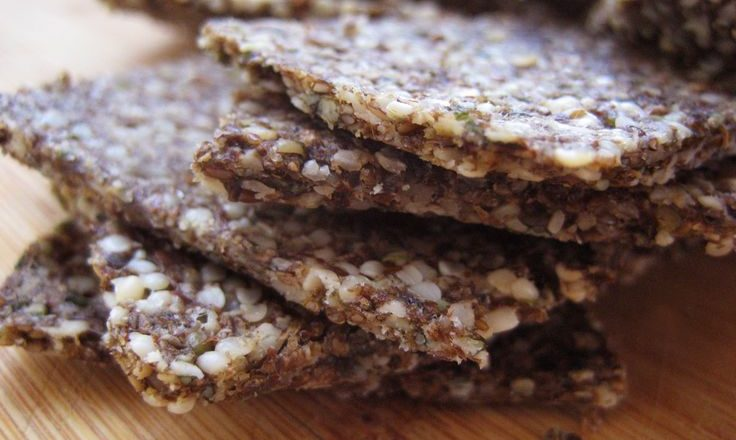 Nutty-seedy crackers: try these tasty Scandinavian treats